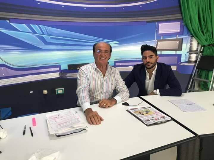 Davide Ciampini ospite in TV