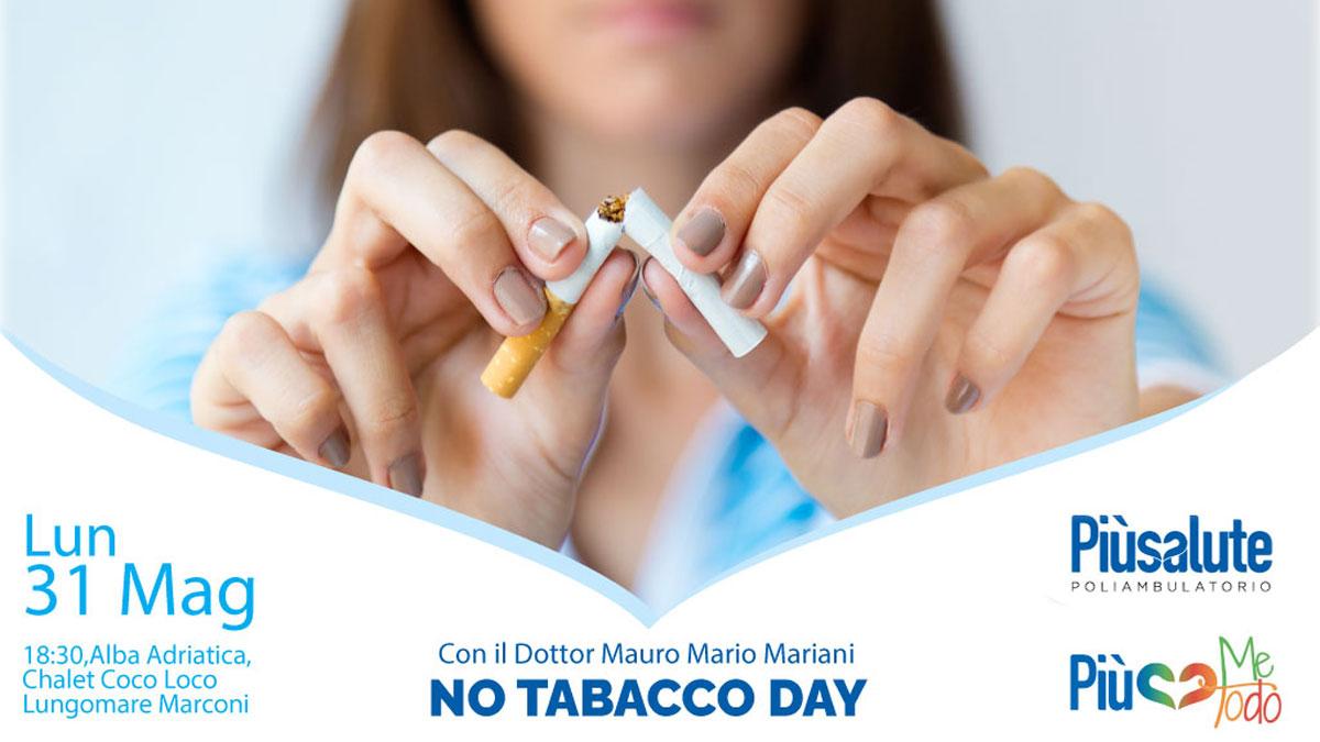 No Tabacco Day Alba Adriatica Più Salute dottor Mauro Mario Mariani